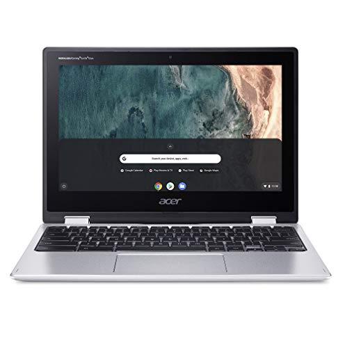 Acer Chromebook Spin 311 CP311-2H - (Intel Celeron N4000, 4GB RAM, 64GB eMMC, 11.6-Inch HD Touchscreen Display, Chrome OS, Silver)