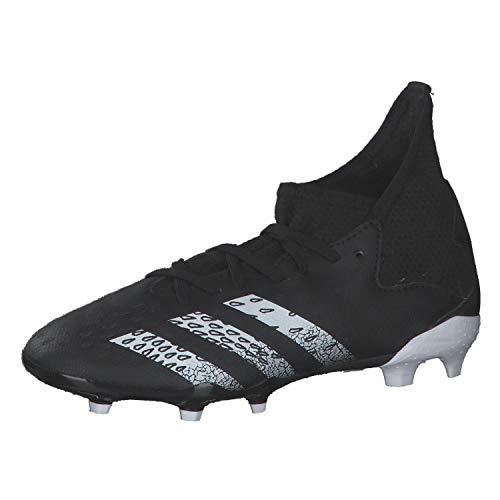 adidas Predator Freak .3 FG J, Zapatillas de fútbol, NEGBÁS/FTWBLA/NEGBÁS, 36 2/3 EU
