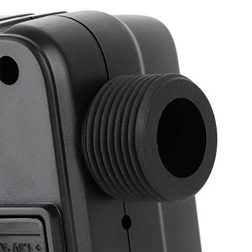 Controlador de riego, ABS automático + PC 1,7 cm / 0,6 Pulgadas Temporizador de riego de jardín Temporizador de Grifo de Agua, para producción de viveros de Flores Balcón Jardín