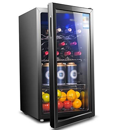 CHENMAO Pequeño Bar de Hielo de Baja vibración de Baja Bar de Hielo de Ruido Inicio termostato Vino Built-in Independiente del refrigerador de Vino Chiller Touch Control refrigerado por Aire