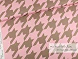 Mamasliebchen Jersey-Stoff BATkick #Rose-Taupe (0,5 m)