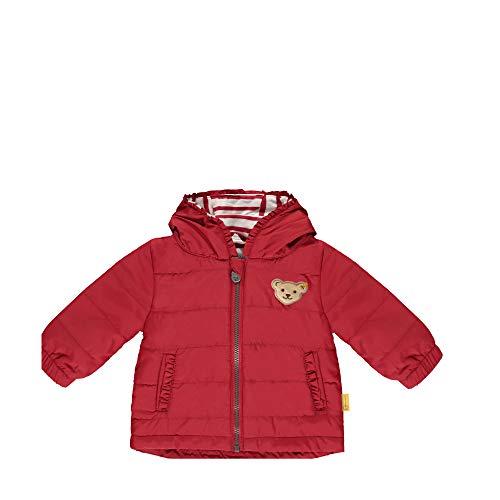 Steiff Mädchen Jacke, Rot (Tango Red 4008), 74 (Herstellergröße: 074)