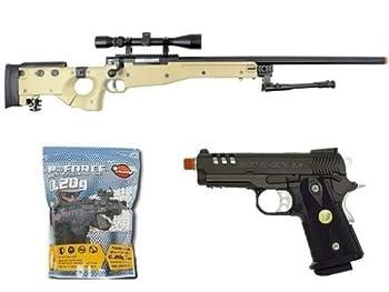 well bolt action sniper airsoft rifle we metal gas co2 blowback gun 5,000 bb s Airsoft Gun