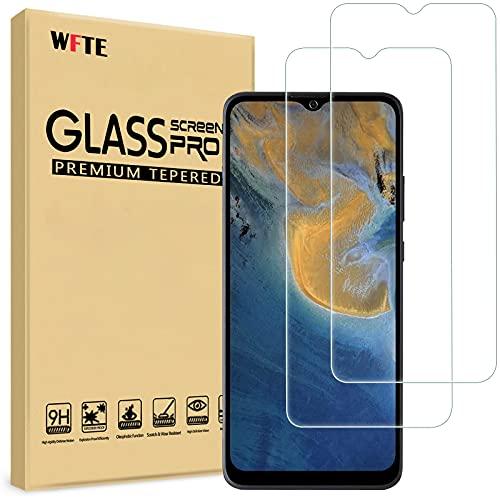 WFTE [2-Pack] Protector de Pantalla para ZTEBladeA51,9H Dureza,Huellas Dactilares Libre,Sin Burbujas,Cristal Templado...