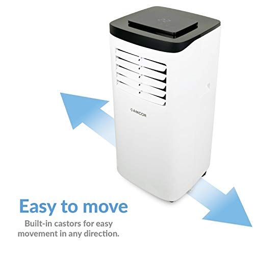 Amcor SF8000E-V3 Portable Air Conditioning Unit Mobile Air Conditioner for Rooms and Offices up to 18 sqm