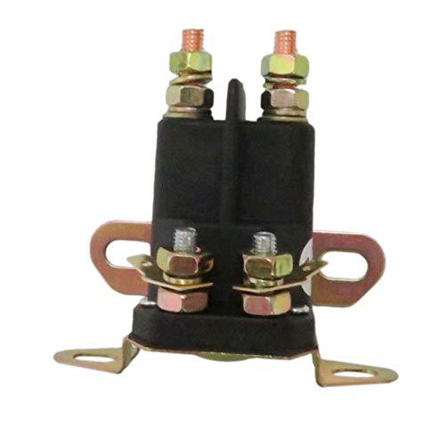 Rllyer Starter Solenoid w/ 2 Hole Bracket for Exmark Lawn Boy Toro 104-3189 117-1197