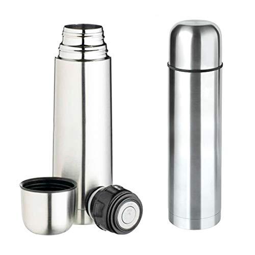 Garrafa Térmica Inox 500ml Para Água Café Chá Com Click Top