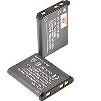 DSTE® アクセサリ Olympus LI-40B LI-42B KLIC-7006 EN-EL10 D-LI108 NP-45 互換 カメラ バッテリー 2個 対応機種 D-720 D-725 FE-220 FE-230 Z33WP Z200fd Z20fd Z100fd [並行輸入品]