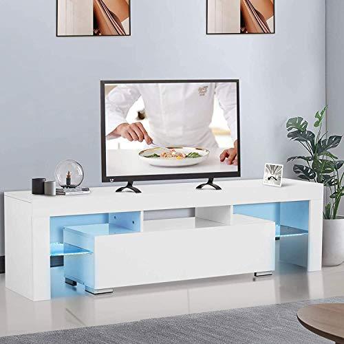 Chouwow White TV Stand
