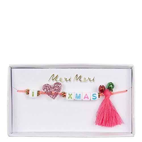 Meri Meri'I Heart Xmas' Bracelet