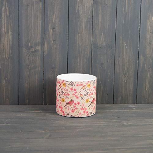Cherry Blossom Indoor Ceramic Plant Pot