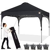 ABCCANOPY Canopy Tent 10x10 Pop Up Canopy Outdoor Canopies Super Comapct Canopy Portable Tent Popup...