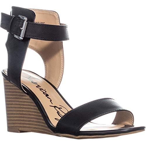 American Rag Womens Aaislinn Open Toe casual sandali con plateau, Nero (Cruz V2 Fresh Foam), 41 EU