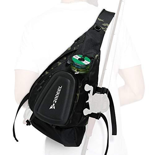 Rodeel Fishing Single Shlouder Bag, Large Storage, for Fly Fishing,...