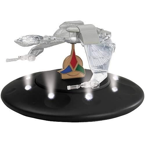 Star Trek 40. Anniversary Edition - Klingon Bird Of Pray 13cm Raumschiff Modell mit Licht und Sound - limitiert (7150)