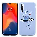 Pnakqil Coque pour Xiaomi Mi A1 (Mi 5X) (5,5 Pouces),Silicone Violet Clair TPU Antichoc Étui...