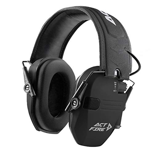 Shooting Earmuffs, Electronic Shooting Hearing Ear Protection for Gun Range