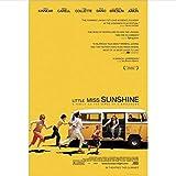 ARTMERLOD Leinwand Poster Little Miss Sunshine Filmplakate