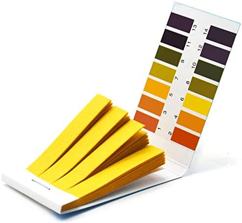 Litmus pH Test Strips Universal Application pH 1 14 Test Paper 2 Packs of 160 Strips product image
