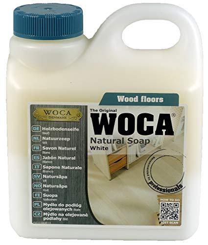 WOCA Holzbodenseife 1 Liter weiß