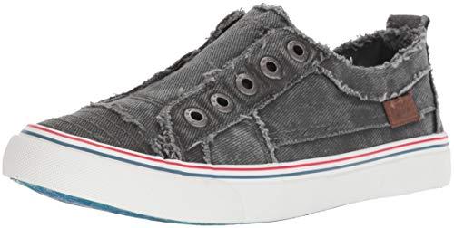 Blowfish Malibu womens Play Sneaker, Light Grey Hipster Smoke, 10 US