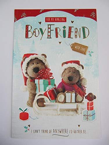 Tarjeta de felicitación de Navidad con relieve de ICG WonderfUL para mi...