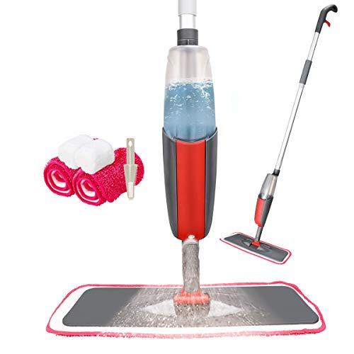 Tencoz Spray Mop, Fregona con Vaporizador, Mopa Fregona con