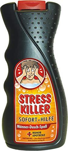 Andrea Verlag Spaß Duschbäder Duschgel Shampoo zum Geburtstag Geschenk für Männer Frauen (Stress Killer 33032)