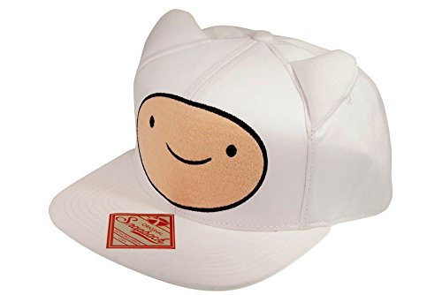 Bioworld Adventure Time Snap Back Hip Hop Cap Big Face Finn