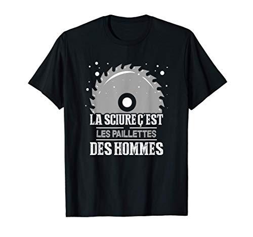 Charpentier Menuisier Travailleur Ouvrier Lame Scie A Bois T-Shirt
