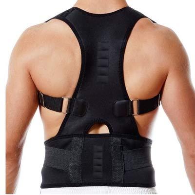 ILCD Buckel-Korrektur Mit Atmungsaktive Rücken Posture Correction Tape Clavicleweinlesehalskette Einstellbare Aligner