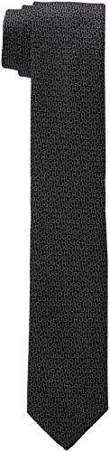 HUGO Herren Tie cm 6 Krawatte, Schwarz (Black 002), One Size (Herstellergröße: STCK)