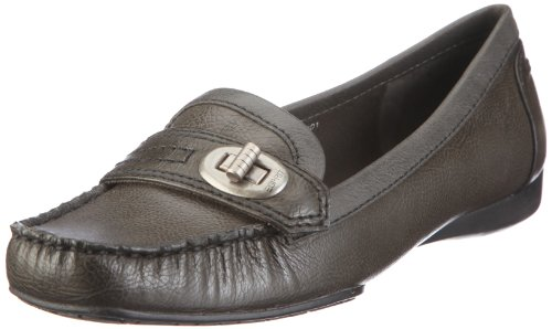 ESPRIT Patrizia Loafer U10301, Damen, Mokassins, Grau (lead grey 033), EU 37