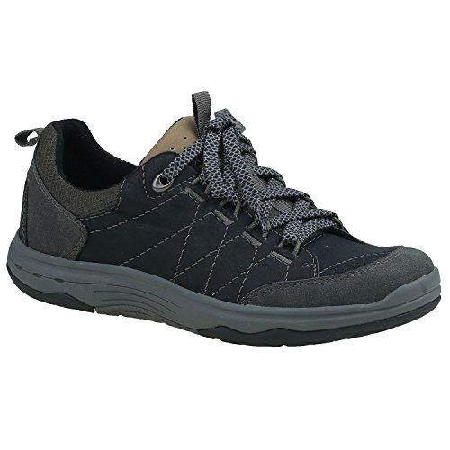 Earth Origins Womens Flinn Black/Dark Grey 6 B US
