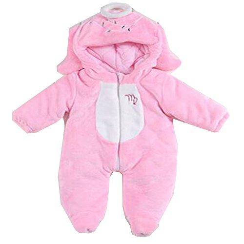 OHmais Bébé Fille garçon Unisexe Grenouillère Costume Deguisement Combinaison Pyjamas vêtement Hiver épaissi Vierge