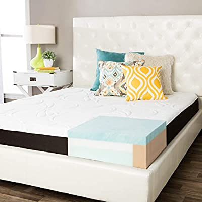 Simmons Beautyrest ComforPedic from Beautyrest Choose Your Comfort 8-inch Gel Memory Foam Mattress Firm White/Grey Full