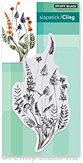 """Penny Black PB40676 Cling Stamps-A Floral Twist 3""""X6.2"""""""