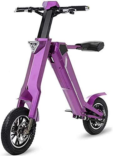 Portable Scooter Electric, De'dicate'd Tires For 12-inch Inflatable Lithium Batteries, Using Aviation Aluminum Alloy Frame, Foldable 350W/48V/7.8ah Scooter Adult Scooters LATT LIV