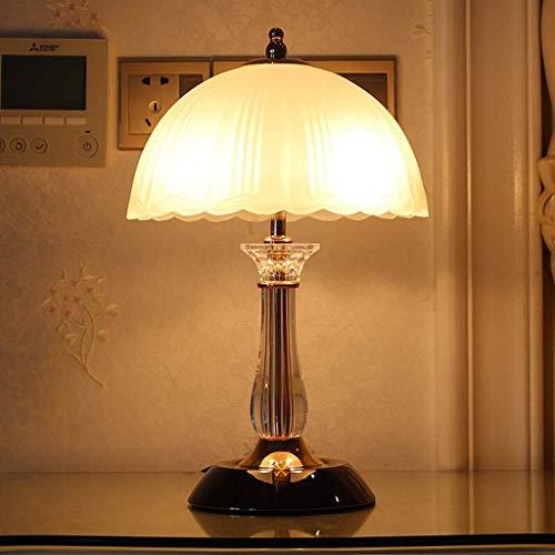 GIOAMH Lámpara de mesa decorativa Estudio Lámpara de escritorio de oficina Dormitorio Mesita de noche