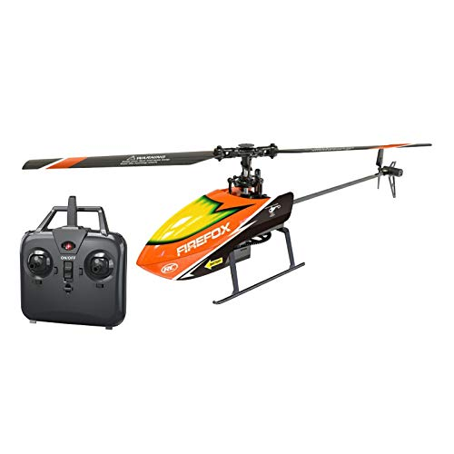 Perfeclan RC Helicopters Remote Control Helicopter with Gyro 4 Channel Alloy Mini Helicopter Remote...