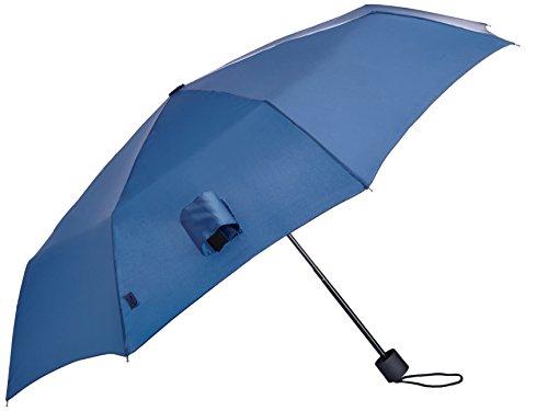 Wenger Regenschirm Manueller Taschenschirm (Blau) W1201