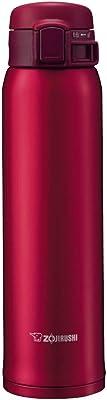 ZOJIRUSHI 20-Ounce/ 600 ml Garnet Red Stainless Mug, SM-SE60 RZ, 600 ml / 20-Ounce