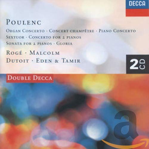 Roge/Eden & Tamir/Malcolm/Lopez-Cob - Organ Concerto/Piano Concerto/Conce
