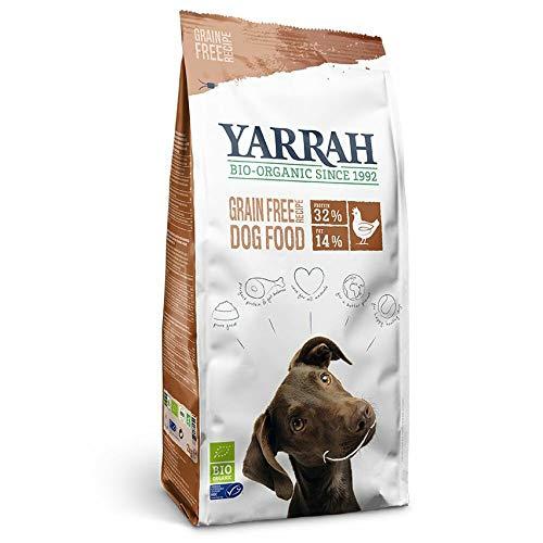 Yarrah Bio Croquettes sans Céréales pour Chien 10 kg