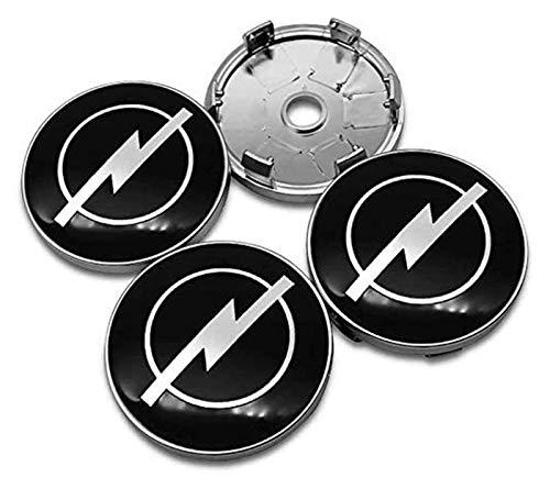 RVTYR 4 stücke 60mm Legierung ABS Rad Nabe Hubcaps Center Caps Abdeckung Emblem Abzeichen Fit Fit für Opel Astra...