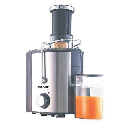 Borosil Primus BJU50SSB11 500-Watt Juicer (Silver)