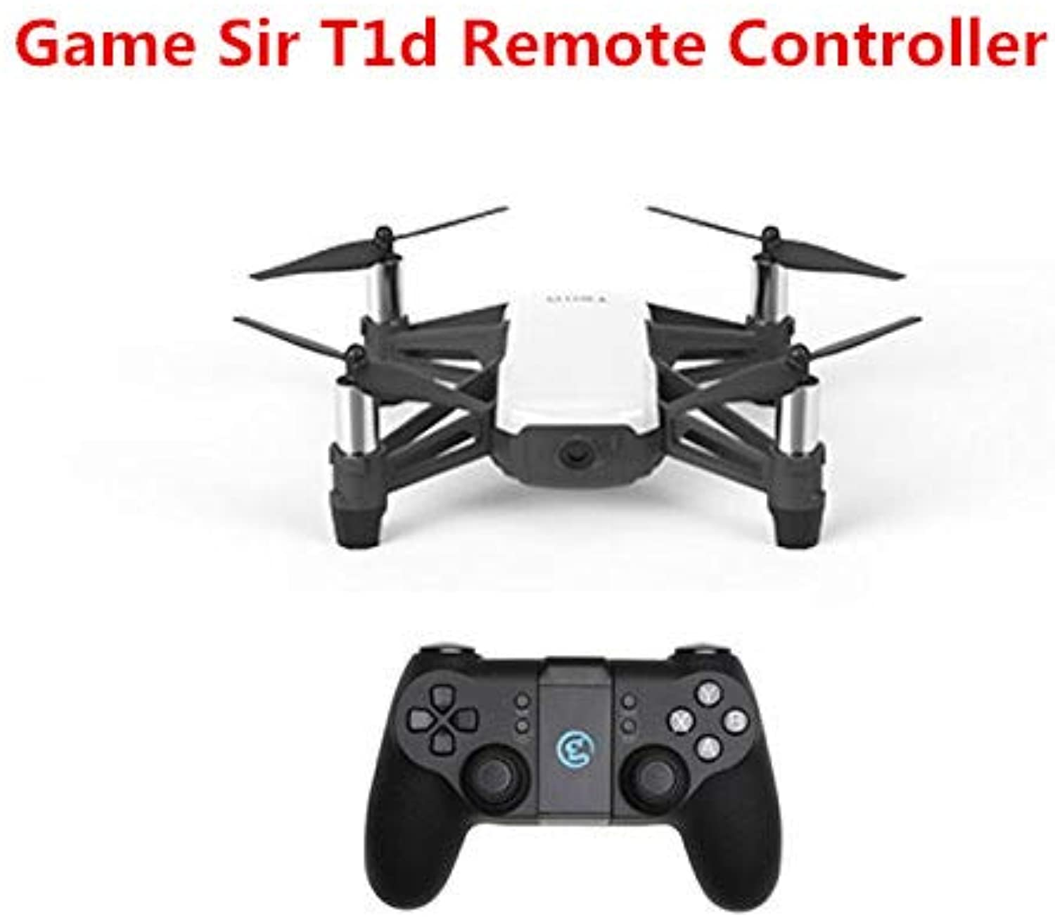 RONSHIN Game Game Game Sir T1d Remote Controller Joystick for DJI Tello Drone ios7.0+ Android 4.0+ 476eac