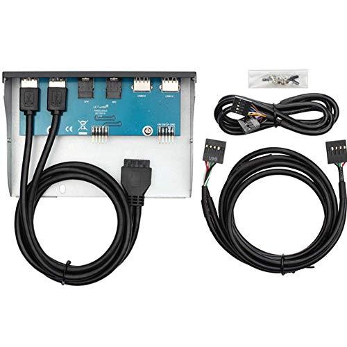 USB3.0 Optical Drive Panel PC Case USB Hub 5.25 Inch Vervanging Interne Onderdelen Eenvoudig Gebruik 20 Pin Voorpaneel Optische Drive Panel