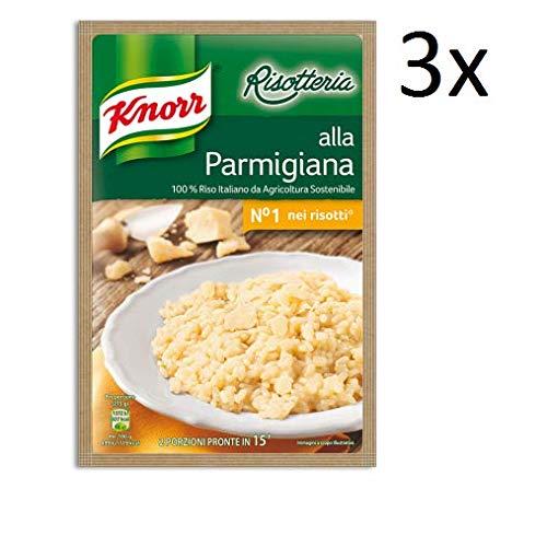 3x Knorr Risotto in die parmigiana Reis 175g 100% italienisch Fertiggerichte