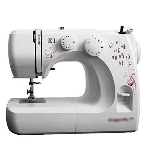 GXFC Professionele mini-naaimachine, draagbare elektrische naaimachine met vrije arm, huishouden, zware uitvoering